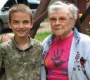 Almost as tall as Grandma!
