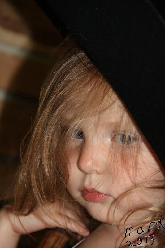 Megan closeup